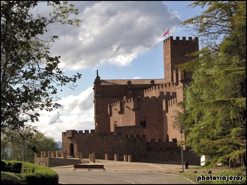 Castillo de Javier en Navarra