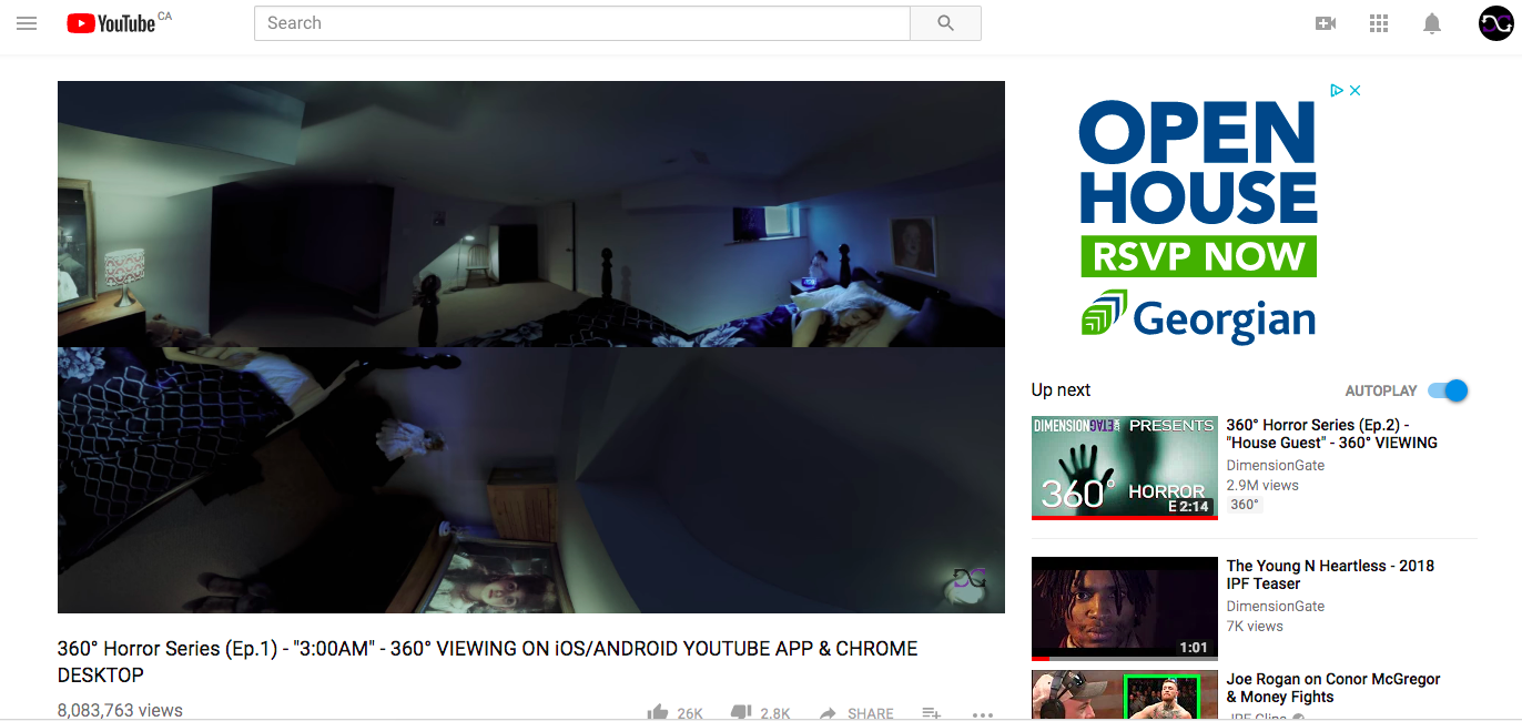 360 degree videos in Google Chrome desktop on Mac are not working