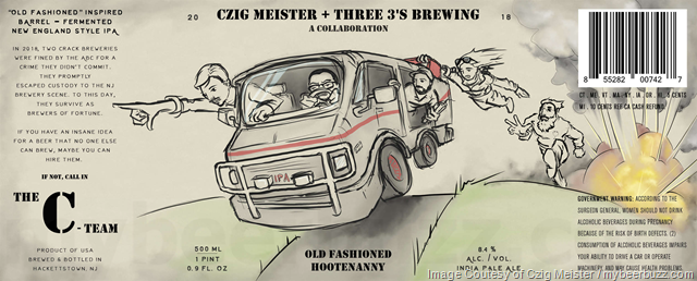 Czig Meister & Three 3's Brewing Collaborate On Old Fashioned Hootenanny