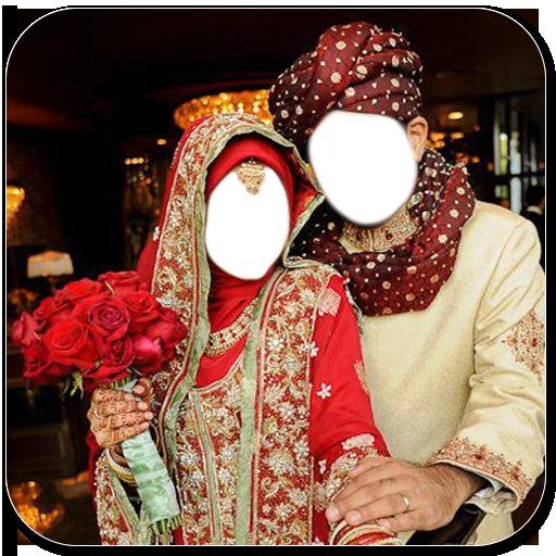 Muslim Couple Photo Suit
