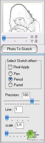 Hướng dẫn chuyển ảnh thành tranh vẽ nét chì