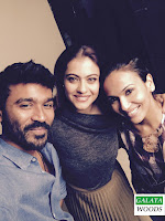 Kajol Hot In VIP 2 With Dhanush Stills Images Photos Pics Pictures Gallery Wallpapers