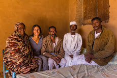 Hassan's family in Atbara.