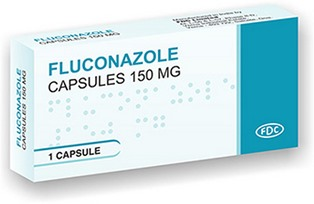 Fluconazole 150 mg Cap Pack shot