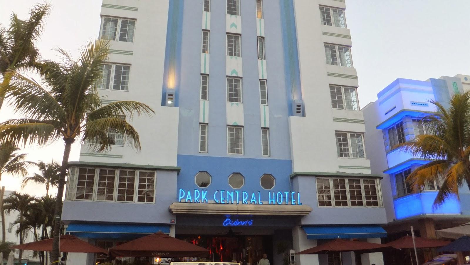 Park Central, Ocean Drive, Miami Beach, SoBe, Florida, Elisa N, Blog de Viajes, Lifestyle, Travel