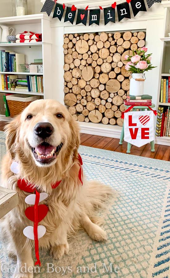 Valentine's Day Decor - www.goldenboysandme.com