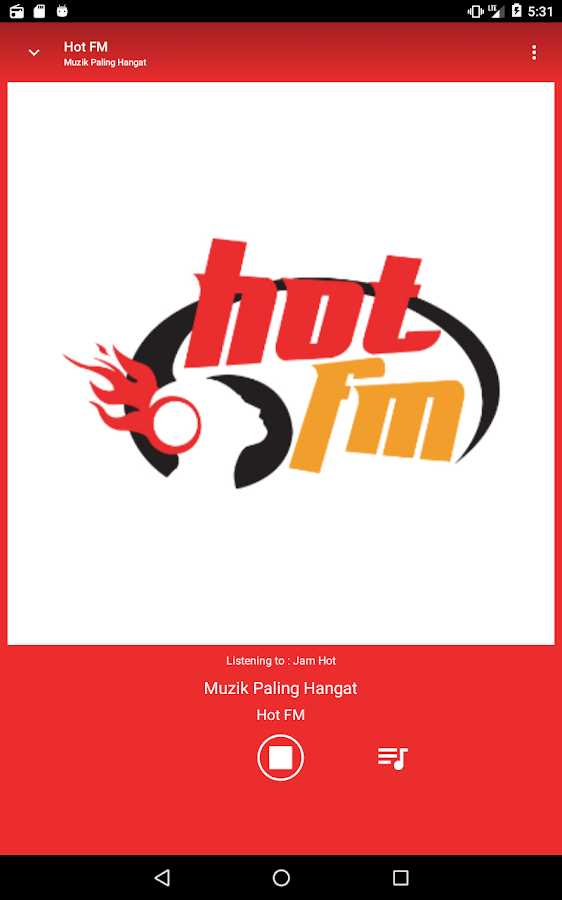 Hot FM- screenshot
