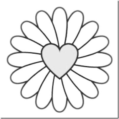 flore sencillas para colorear  (6)