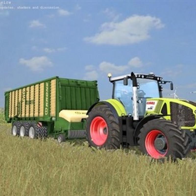 Farming simulator 2015 - KRONE ZX 550GD V 1.0