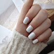 DIY MANICURE ; WHITE NAILS