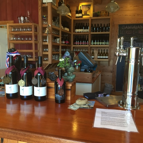 Nantucket Vineyards tasting room
