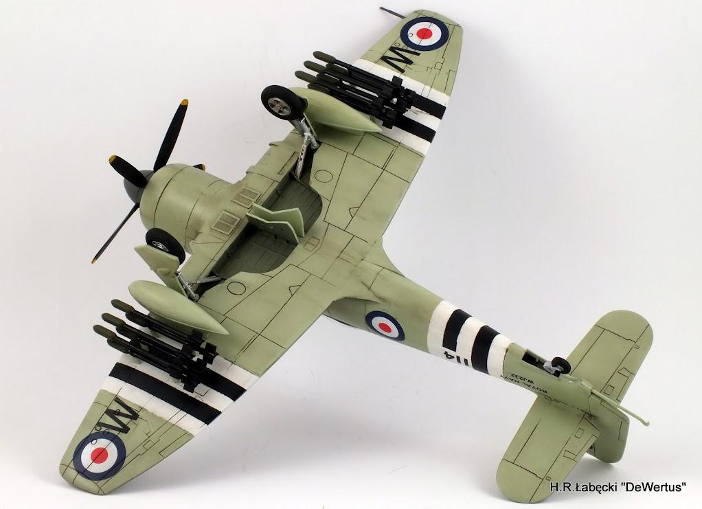 Korea 1950-53; Sea Fury FB.11, KITECH 1/48 DSCF3958