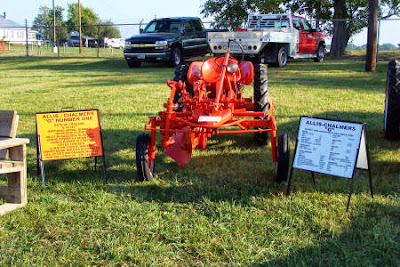 A 1940 Allis Chalmers Tractor