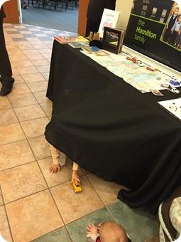 Play Display Table