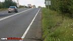 Where the crash happened - Peterborough, England