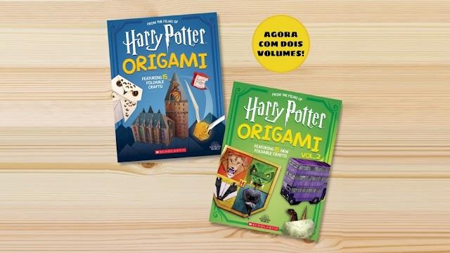 Harry Potter ganha dois novos livros de Origami pela Scholastic Inc.