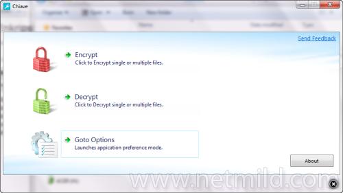 Chiave Enkripsi File pada Windows 7 dengan Chiave