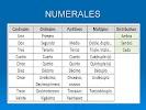 ЛІ: Вживання числівників (los numerales).