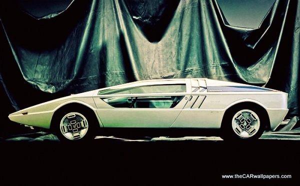 Maserati Boomerang 1971 Funny Steering Wheel