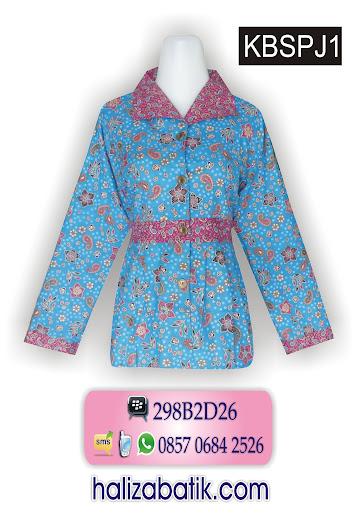 batik murah, batik modern, model baju batik panjang