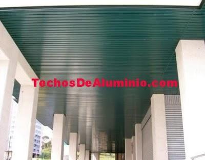 Profesionales Falsos Techos Aluminio Madrid