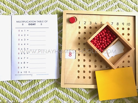 FREE Montessori Multiplication Booklets