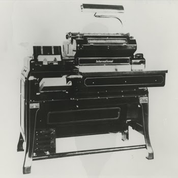 IBM 401 accounting machine (1933). Photo courtesy of Computer History Museum.
