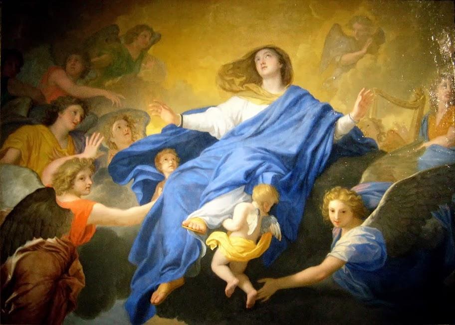 Charles Le Brun - L'Assomption de la Vierge