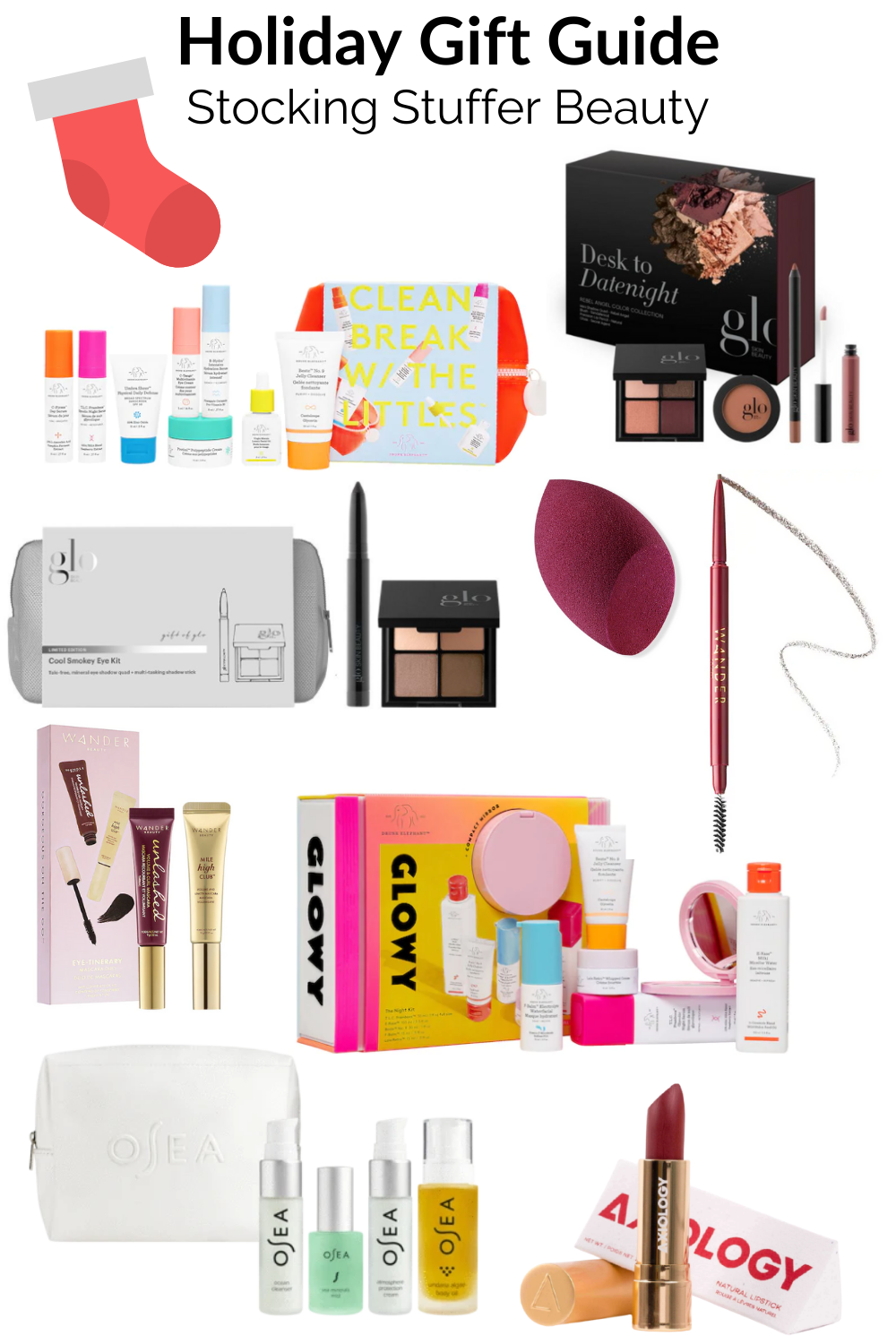 stocking stuffer skincare and beauty holiday gift guide