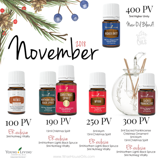 November 2018 Young Living Promo WHO