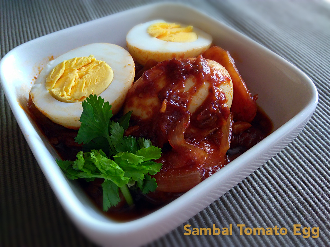 how to cook sambal egg