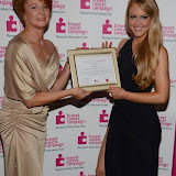 WWW.ENTSIMAGES.COM -   Ann Purdy Recepient of the  ESCADA Raising Hope Award 2013 with Camilla Kerslake    at    Breast Cancer Campaign's Pink Ribbon Ball at The Dorchester, 55 Park Lane, London October 12th 2013                                                    Photo Mobis Photos/OIC 0203 174 1069