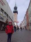 V popředí Bětule, v pozadí Znojemská radniční věž.