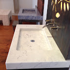 Rectangle Marble Sink milled from block 1.JPG