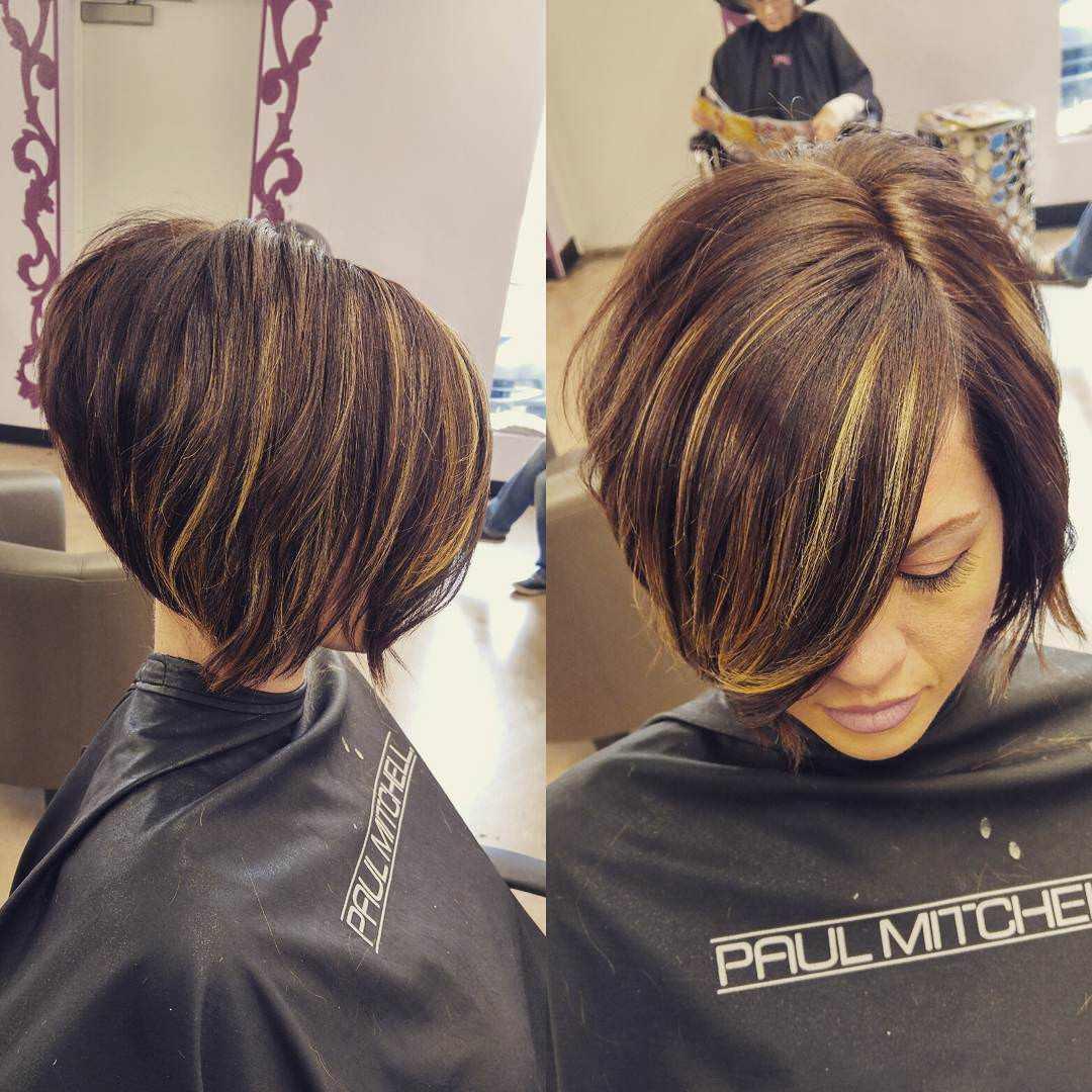 stacked bob haircut designs 2017 styles - Real Hair Cut / Shweshwe ...