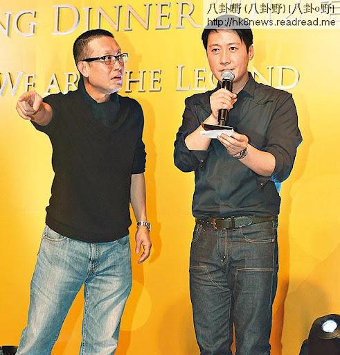 鞏固老闆形象 <br><br>貴為 Amusic老闆的黎明非常緊張事業,今年初以老闆身份出席寰亞春茗,更與《無間道》導演劉偉強在台上抽獎。