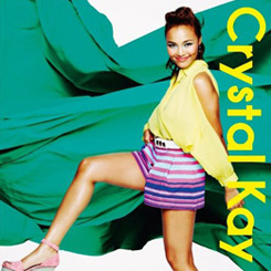 Crystal Kay - Delicious na kinyoubi / Haru arashi | デリシャスな金曜日 / ハルアラシ [CD] | Single art