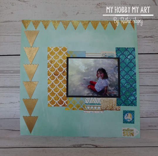 Clear Scraps Kit, Layout, Nautical, Ruthie Lopez