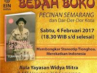 Bedah buku Pecinan Semarang dan Dar Der Dor Kota