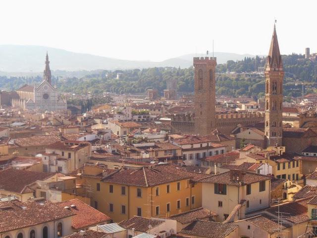 Vistas de Florencia desde el Campanile de Giotto