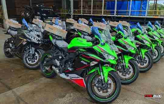 2022 Kawasaki Ninja ZX-25R finally launched in Indonesia HD image Gallary,
