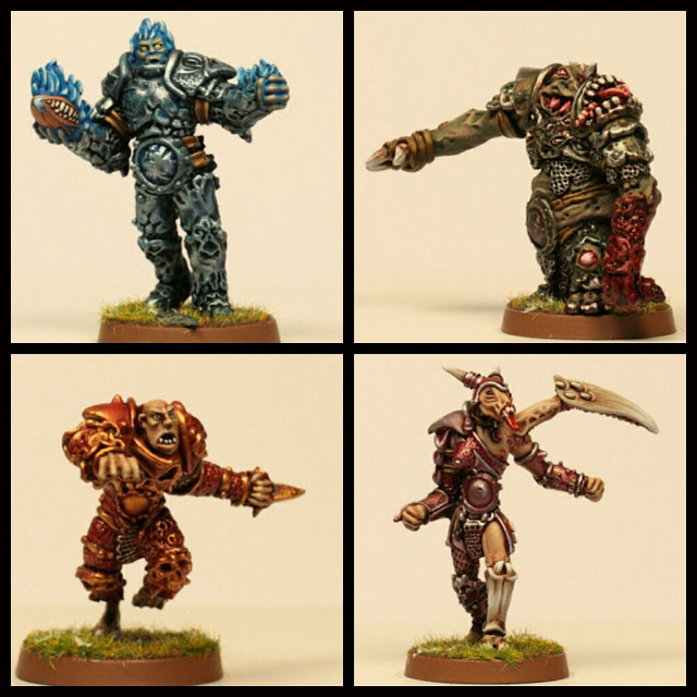 Gaspez Art Guerreros del Caos Blood Bowl