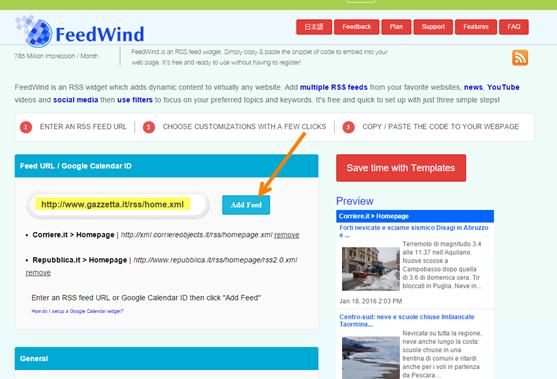 aggiungere-feed-feedwind
