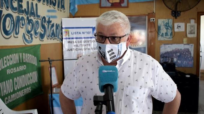 """Stange: """"Será arduo pero hay que devolverle la confianza al pueblo Justicialista de VGG"""""""