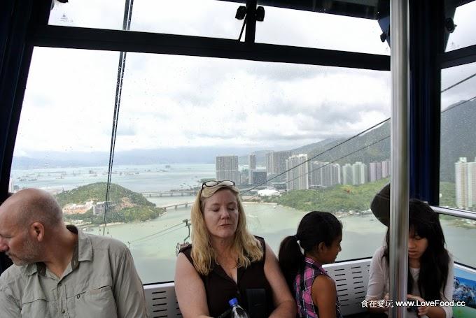 香港大嶼山【昂坪360】搭纜車上山來去看大佛