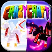 crazy craft mod for pe