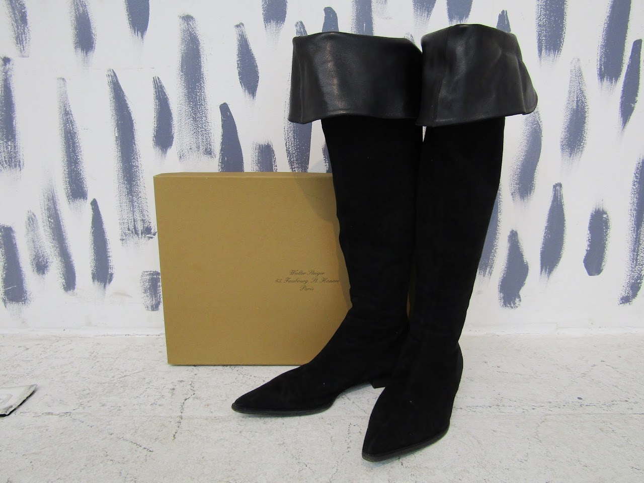 Walter Steiger Over the Knee Mod Boots