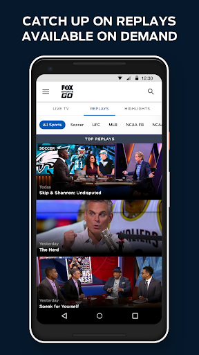 Download FOX Sports GO: Watch Live MOD APK 5