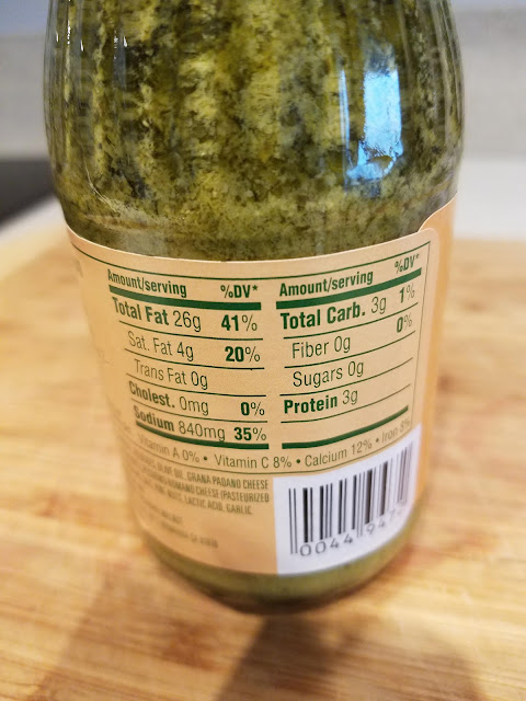 Trader Joe's Pesto alla Genovese Basil Pesto Nutrition Facts