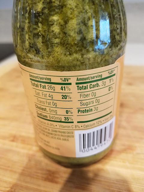 Trader Joe's Pesto alla Genovese Basil Pesto Nutrition Facts
